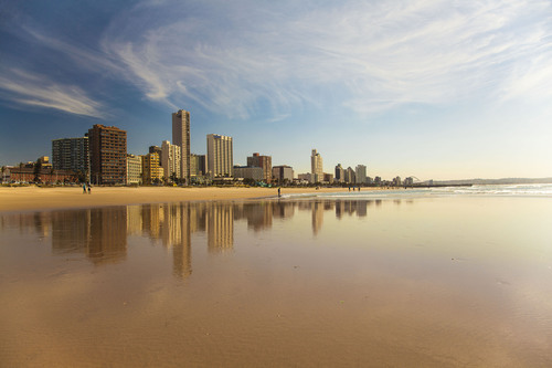 South Beach, Durban, Kwazulu-Natal, South Africa.