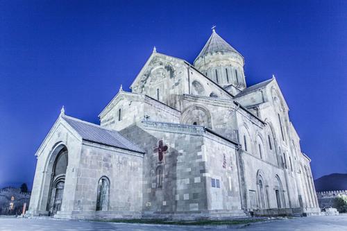 Svetitskhoveli Cathedral, Mtskheta, Georgia.
