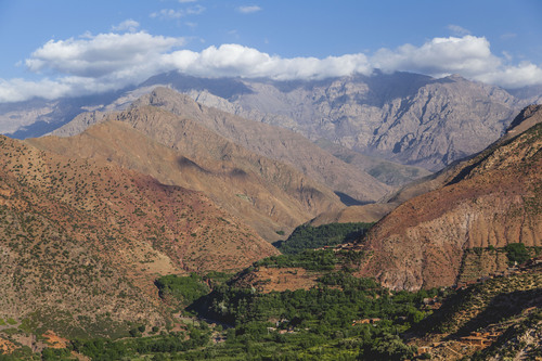 High Atlas Mountains, Morocco, Africa.