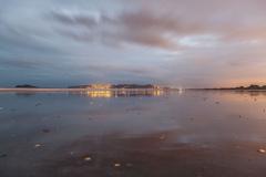 Portmarnock Beach and Howth, Dublin, Ireland.