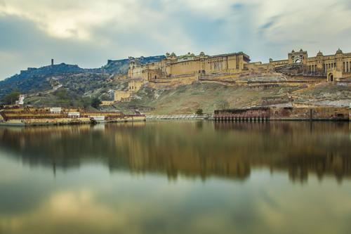 Amber Palace, Amber, Jaipur, Rajasthan, India.