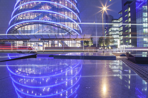 Convention Centre Dublin, North Wall Quay, Docklands, Dublin, Ireland.
