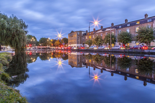 Grand Canal, Portobello Harbour, Dublin, Ireland.