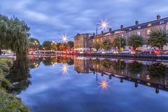 Grand Canal, Portobello Harbour, Dublin, Ireland.
