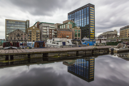 Inner Basin, Grand Canal Dock, Docklands, Dublin, Ireland.