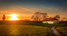 The Old Farm House was taken in Bective Abbey in Co Meath at sunset,