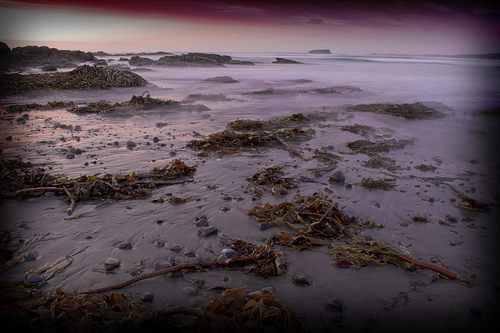 October evening at Pollan Beach, Ballyliffin, Clonmany.