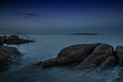 Long Exposure of 40 Foot Sandycove