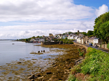 Late spring morning view of Roundstone in Connemara, County Galway.