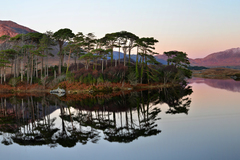 Evening at Derryclare Lough, Connemara, Co. Galway