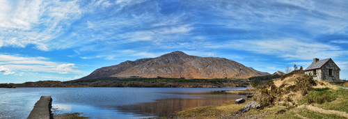 Derryclare Lough and Derryclare Mountain