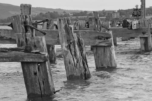 Old pier at Fahan, just outside Buncrana.