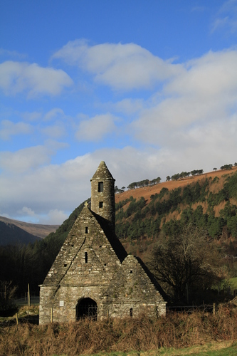 Glendalough, or the Glen of two Lakes, is one of the most important sites of monastic ruins in Ireland. It is also known as the city of the seven Churches.