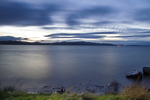 Lough Swilly on a summers evening.