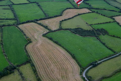 One of the many pictures I took over South Kilkenny,  last year when our daughter won a balloon trip in the ReMax balloon.