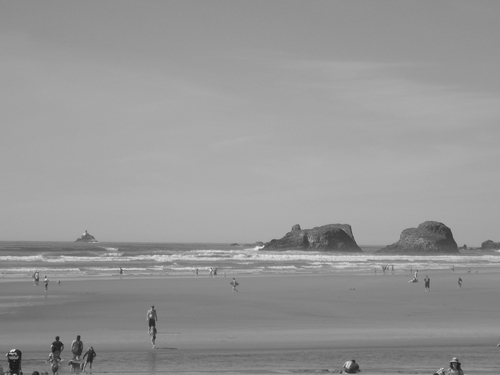 Lighthouse & Islands on Cannon Beach