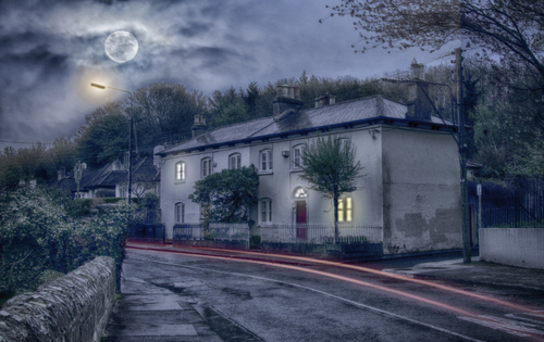 Lovely old houses in Chapelizod