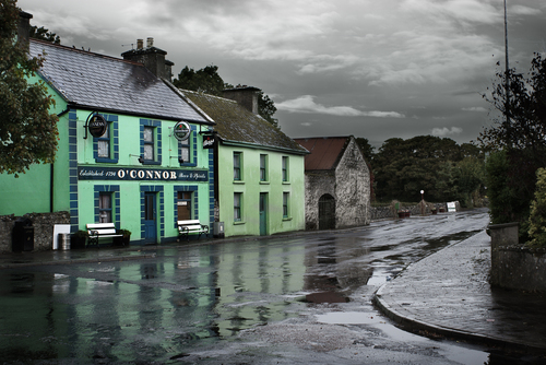 October 2010. Out of the rain to a steamy pint where I smelled of damp and mud.