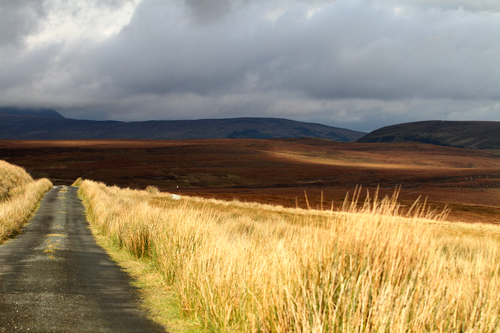 Taken on the road near the old mines at Ben Croy on Sliabh an Iariann,Co Leitrim