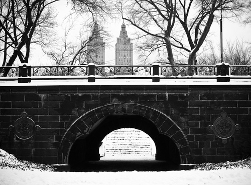 Trefoil Arch in manhattan's central park