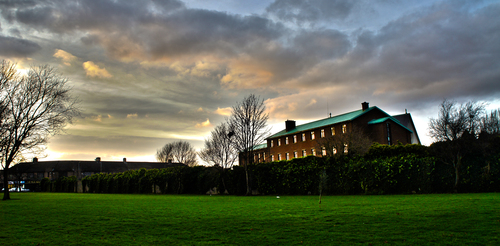Eamonn Ceannt Park (Sundrive Park) at the back of St. Bernadettes Church HDR Crumlin