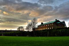 Eamonn Ceannt Park (Sundrive Park) at the back of St. Bernadettes Church HDR Crumlin
