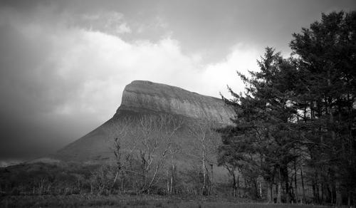 Ben Buben, Co. Sligo's iconic hill that's part of the Dartry mountain range.