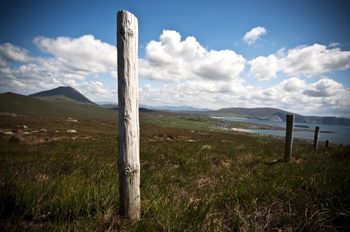 A scene from high on Achill Island on Ireland's west coast.